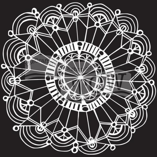coronet wreath stencil