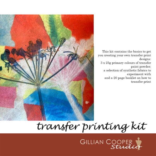 transfer print 3 dye kit