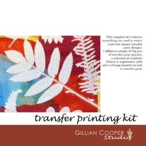transfer print 7 dye kit