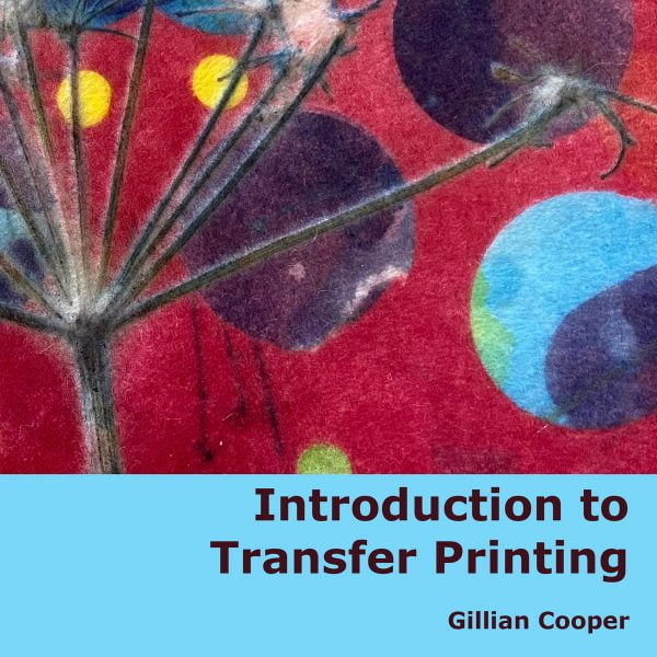 Introduction to Transfer Printing by Gillian Cooper (cover)