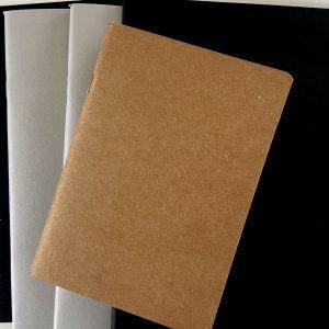 paper cover sketchbooks