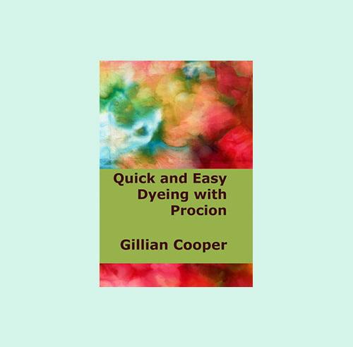 Gillian Cooper Studio - Dyeing Booklet
