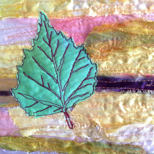leaf free machine applique