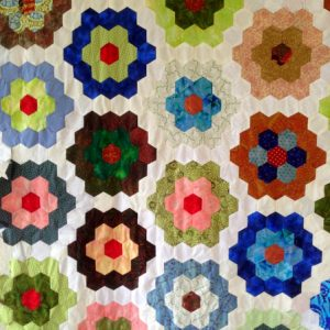 hexagons patchwork