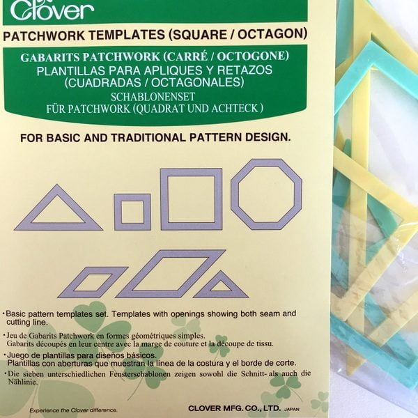 octagon patchwork templates