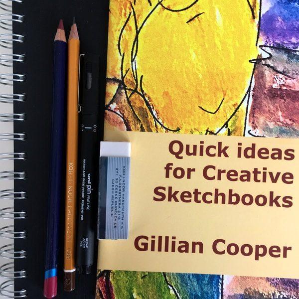 Gillian Cooper Studio sketchbook kit