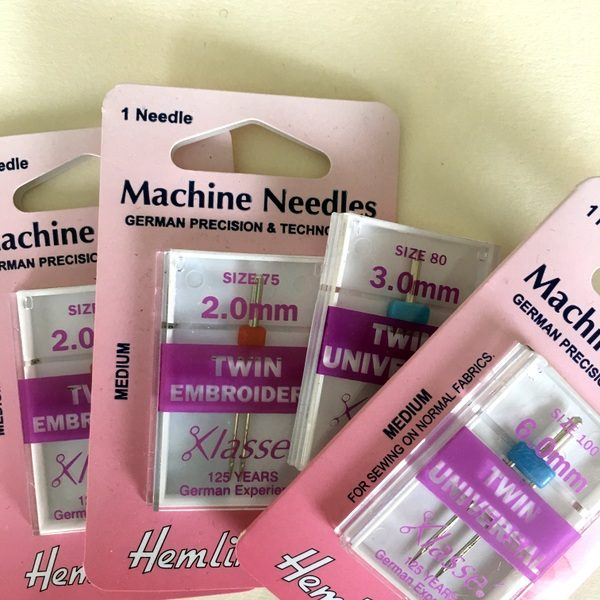 twin needles for sewing machines